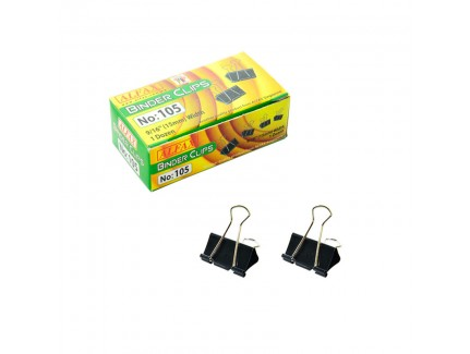 ALFAX 105 Binder Clip 15mm 12's