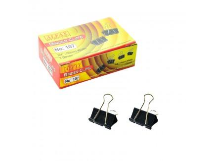 ALFAX 107 Binder Clip 19mm 12's