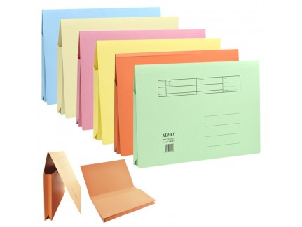 ALFAX 102 Paper Pocket File F4