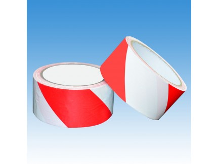 ALFAX 050RW Non-Adhesive Warning Tape 48mm x 50m Red/White