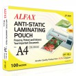 ALFAX LP1603 Laminating Film 100 Micron 216x303 mm A4 100's
