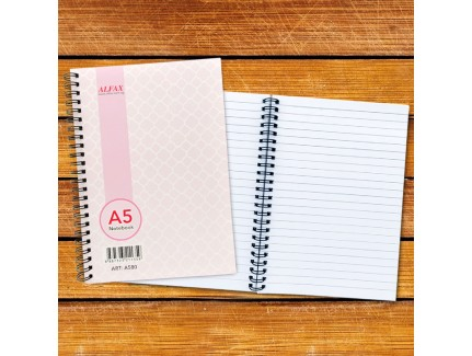 ALFAX A580 Ring Note Book A5 80 Pages