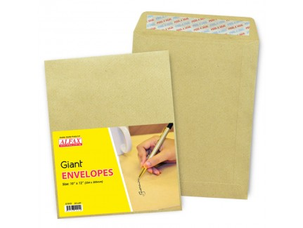 "ALFAX Giant P&S Envelope 10"" x 12"" 24's"