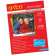 AXCO Pro Glossy Photo Paper A4 265 gsm 20 Sheets