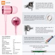 XIAOMI ZBW4153SG In-Ear Earphones Crystal Pink