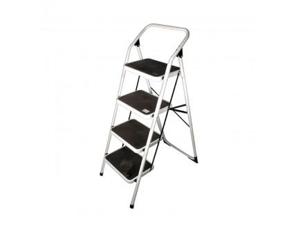 ALFAX 1104 4 Step Low Square Handle Metal Ladder