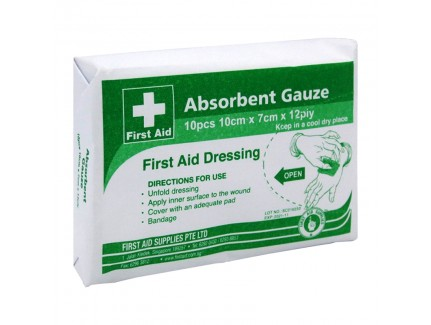 Absorbent Gauze 12 Ply x 10's