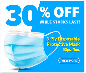 Face mask 30% off